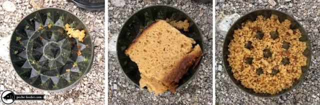 Réalisation de chapelure de pain d'épice à l'aide d'un broyeur à appats