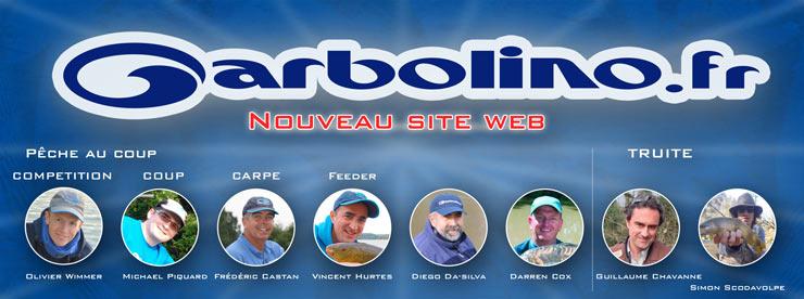 Nouveau site Garbolino : Les pêcheurs parlent aux pêcheurs !