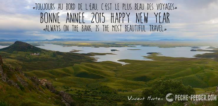 Toujours au bord de l'eau en 2015 !
