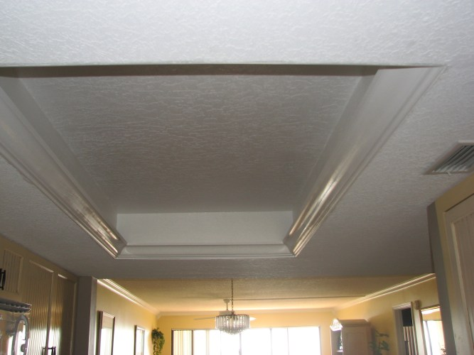 what to do with my old kitchen drop ceiling lighting kitchen ceiling lights New trey ceiling primed and painted