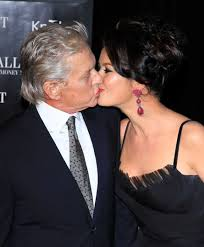 Careful where you kiss me, Michael!