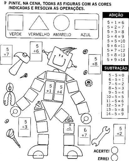 robô - figuras