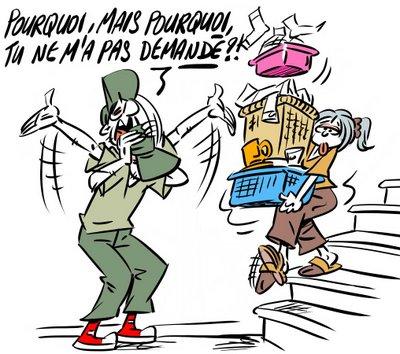 Les tâches ménagères/ Las actividades domésticas PedazodeFrancia - les taches menageres
