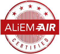 ALIEM AIR Certified Logo