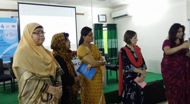 Dr. Jameela, Dr Megan, Dr Rumana and Others