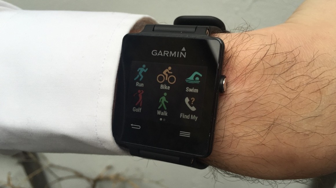 how to use garmin vivoactive for swimming