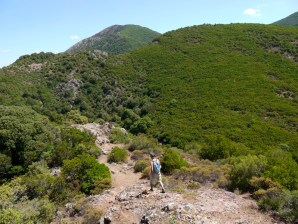 Verso la Cascata Irgas