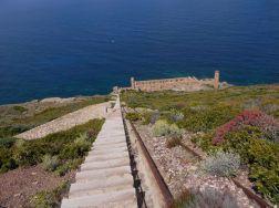 The stair of Laveria La Marmora