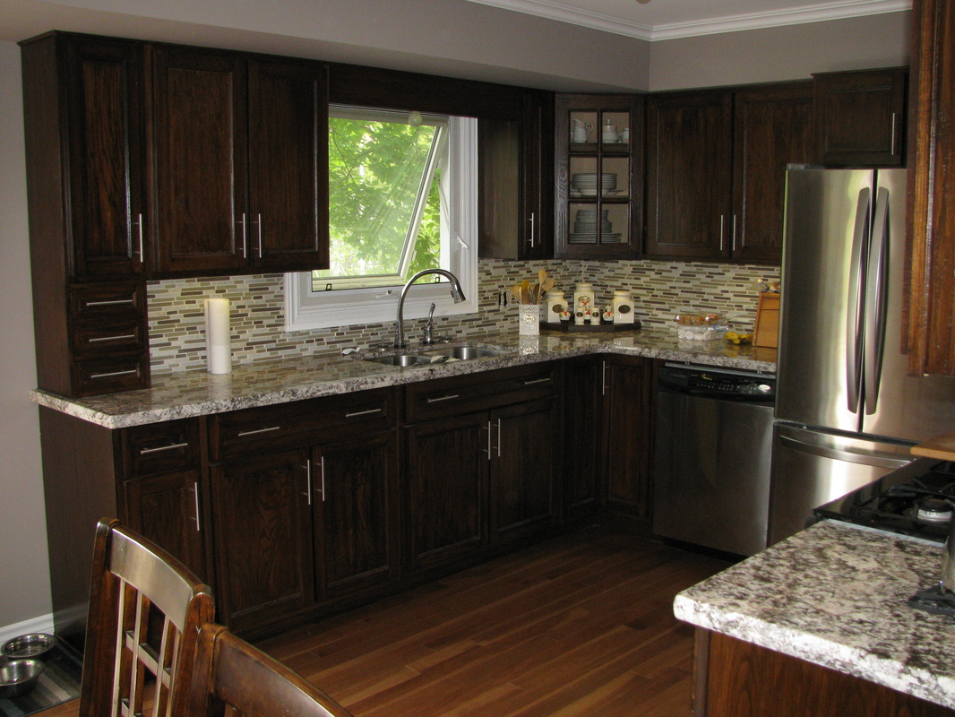 Flat Front Kitchen Cabinets Kitchens Bathrooms Pedro S Custom Woodworking 519 425 2487
