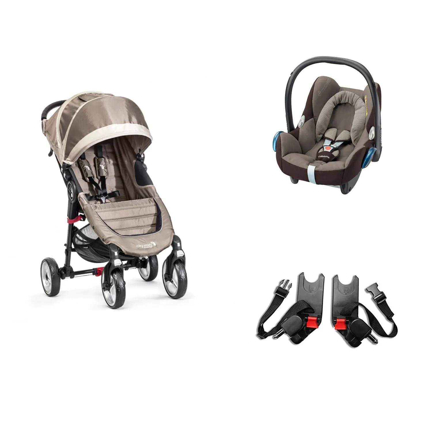 Car Seat Carrier Stroller Stroller And Baby Carrier Package