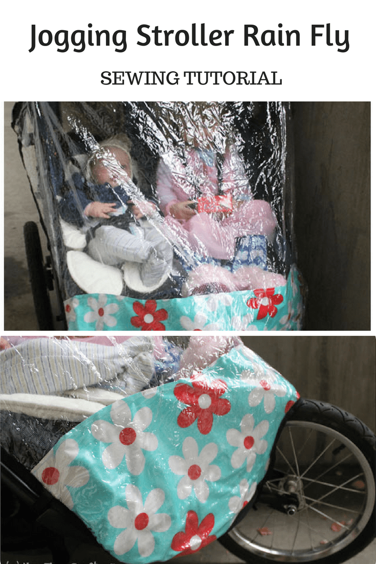 Jogging Stroller Weather Shield Jogging Stroller Rain Fly Tutorial Peek A Boo Pages