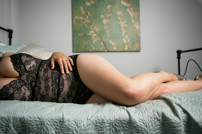 Miss H's Boudoir Photo by Peekaboo Portland