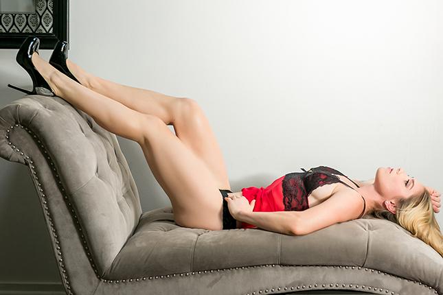 Miss M - Peekaboo Portland Boudoir Photography