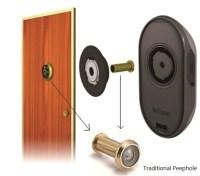 Home Security; front door Hidden Surveillance camera ...