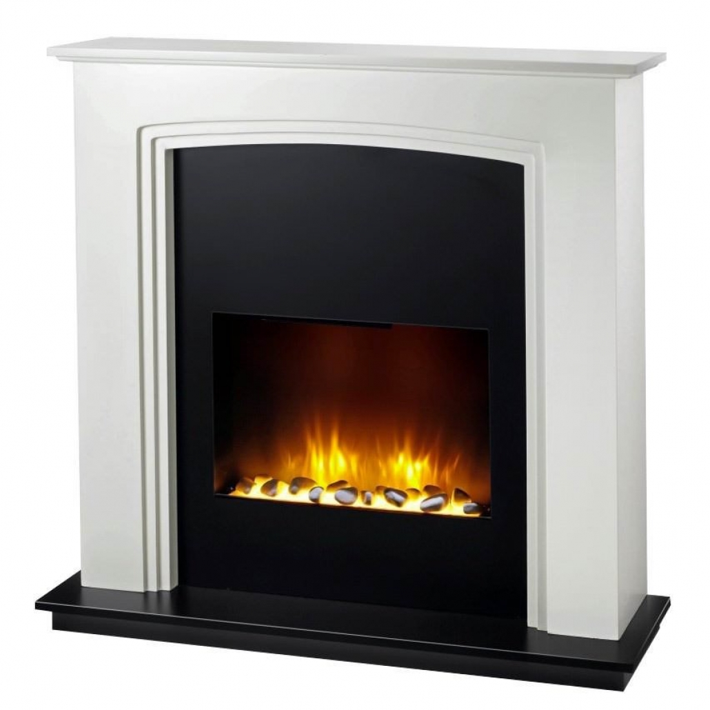 Cheminee Decorative Murale Electrique Leroy Merlin Seminee Electrice Manhattan Ultra Realistic Fire Alb