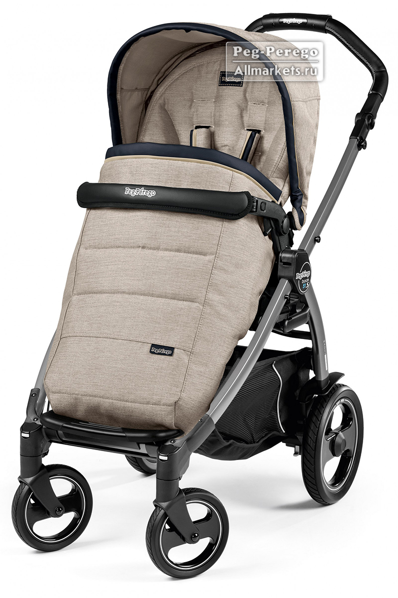 Peg Perego Book Plus 51 S Pop Up Коляска Peg Perego Book Plus Pop Up Completo Luxe Beige