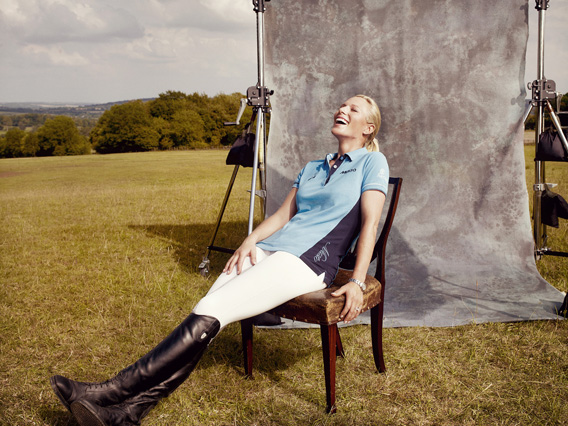 Zara Phillips - Tatler magazine, october 2011