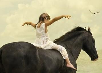 Tom Chambers : Horse & Kid