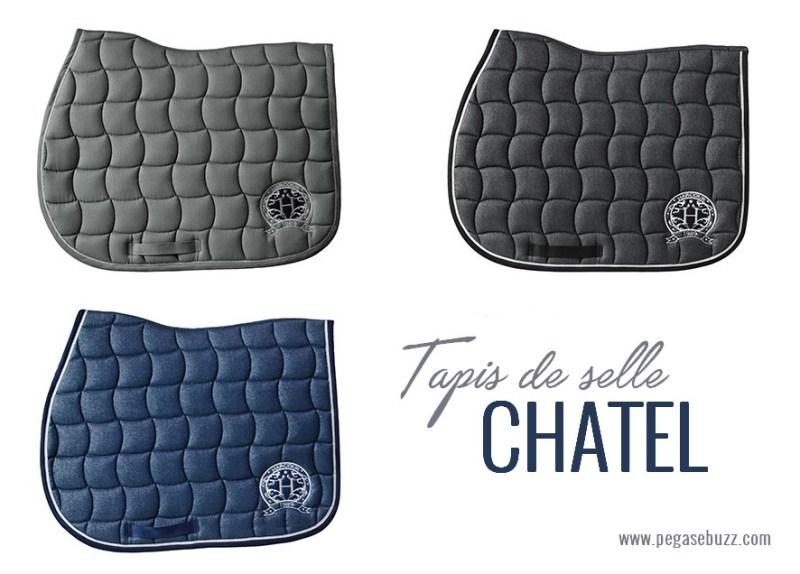 www.pegasebuzz.com | Harcour Equitation : Tapis de selle Chatel