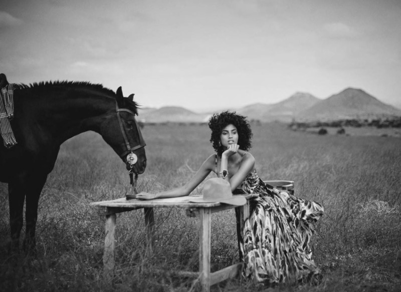 www.pegasebuzz.com | Imaan Hammam by Boo George for Vogue Spain, July 2017