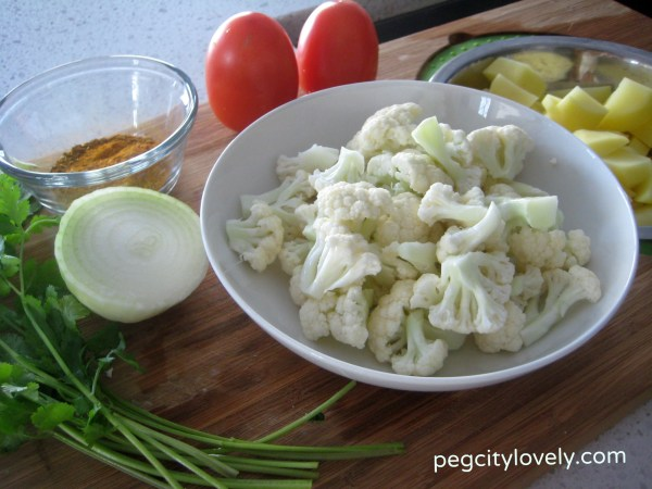 cauliflower potato gobi
