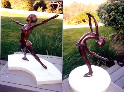 Fernad Fonssagrives sculptures of Peggy