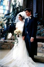 Peggy Fleming Wedding Day