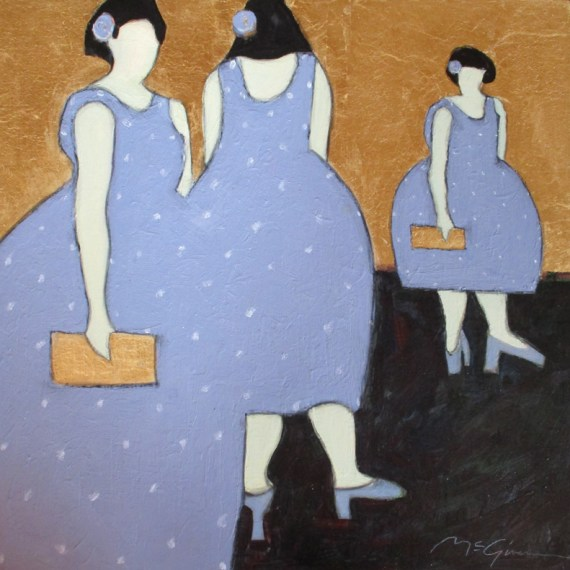 TheBridesMaids-18x18-MMwithGoldLeaf