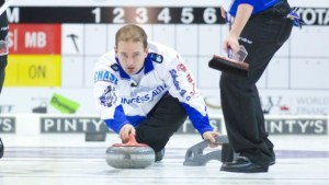 Gushue, with PEI's Gallant, to play Carruthers in 1 pm final of the National, on CBC (Grand Slam)