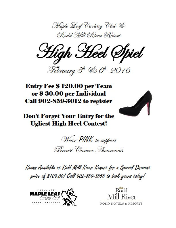 High Heel Spiel @ Maple Leaf Curling Club
