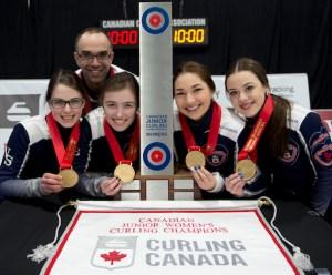 Nova Scotia wins women's gold, Manitoba men make it 4 in a row, at 2016 Cdn. Jrs. (Curling Canada)