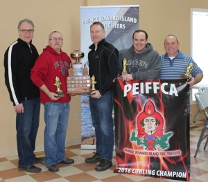 PEI Firefighters Curling Champs