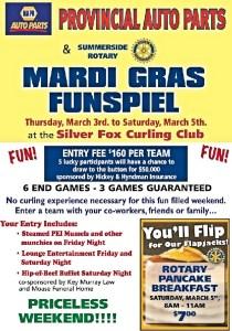 Fox hosting Mardi Gras Funspiel March 3-5