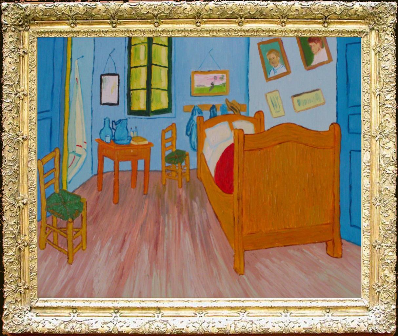 La Chambre Jaune Vincent Van Gogh
