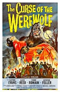 Cartel de la película La maldición del hombre lobo