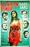 Cartel de la película La tentación desnuda