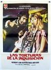 Cartel de la película Las torturas de la Inquisición
