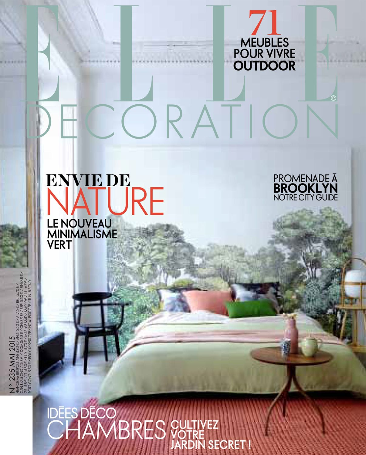 Elle Decoration France Pelle Elle Decor France May 2015