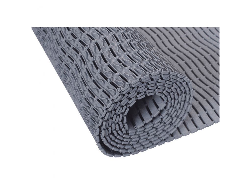 Shower Mat Shower Mat 1000 X 580 X 9 Mm Grey Polyethylene