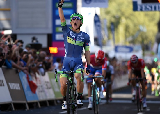 Caleb Ewan wins Stage 8 of the 2016 Tour of Britain
