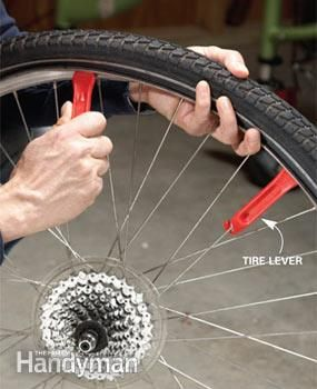 Puncture Repair / The Family Handyman