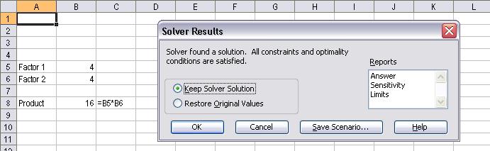 solver excel macro