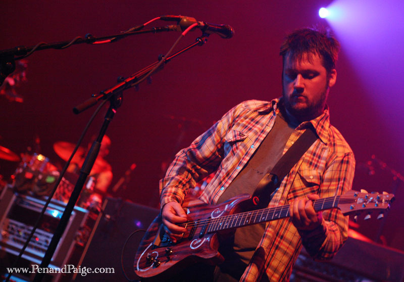 Modest Mouse frontman Isaac Brock in performance at the Alberta Bair Theater Sept. 3, 2009.