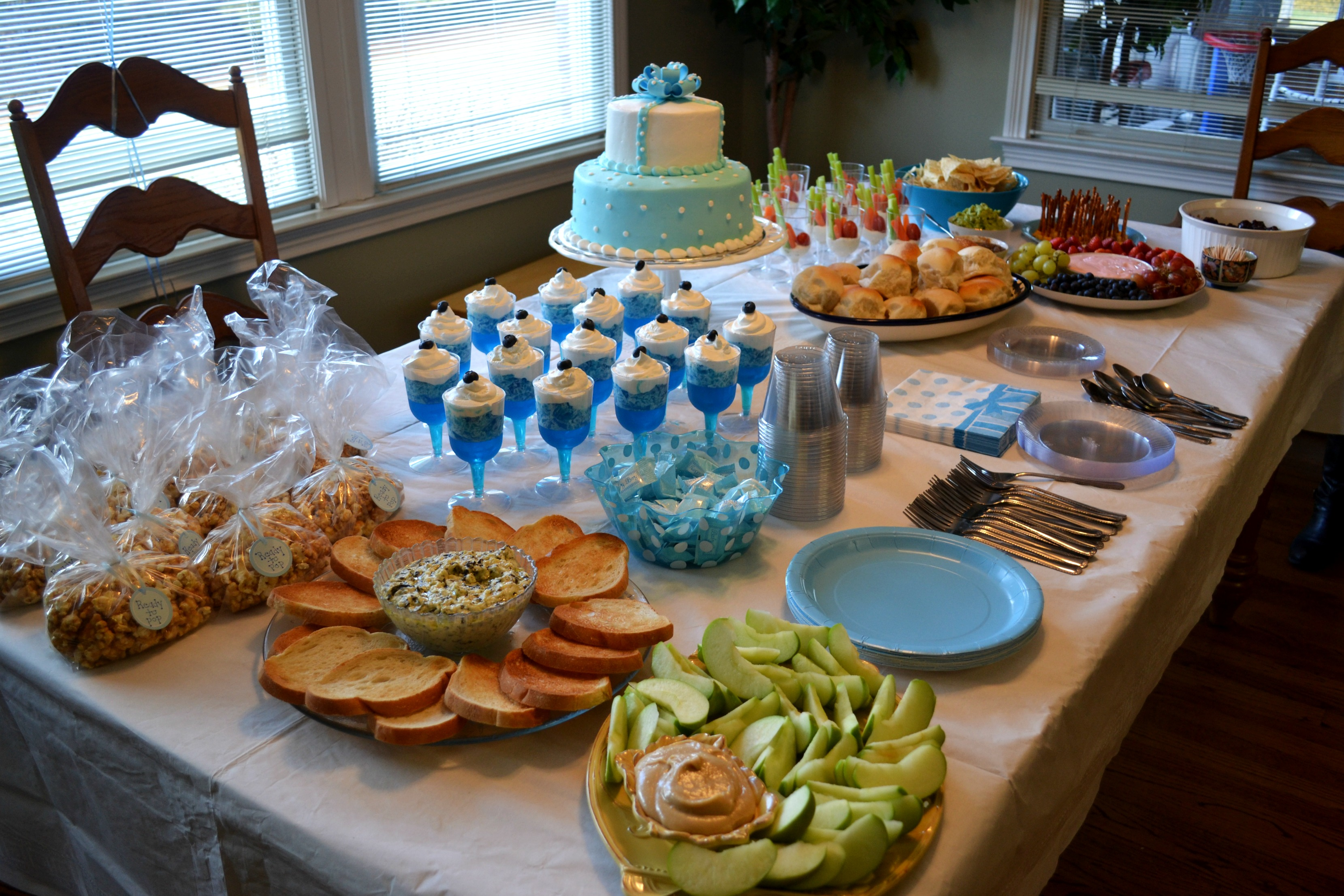 baby shower food ideas for a boy Search