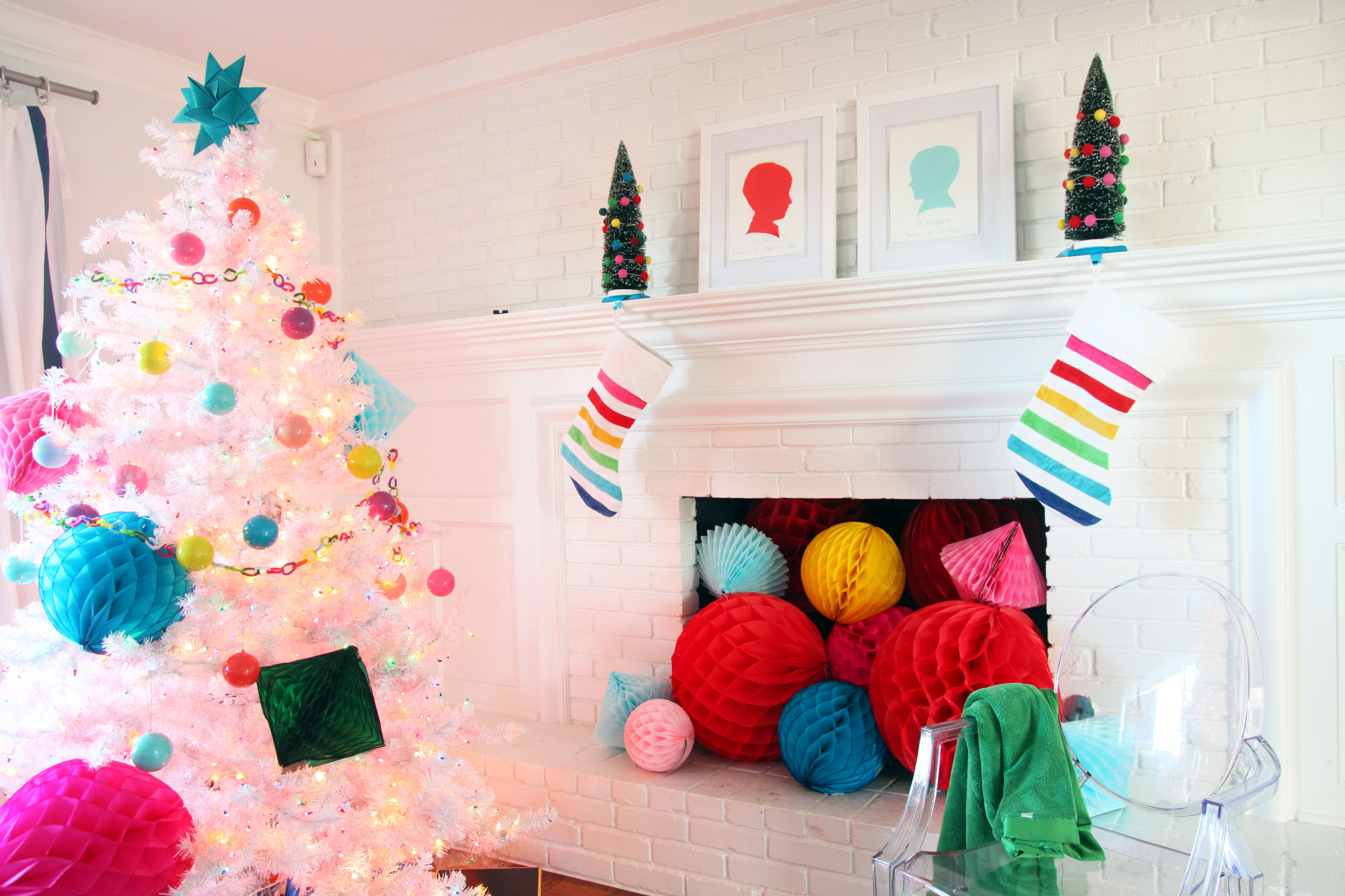 Foto Decoration Decorating For Christmas Babyproofing Edition Pencil