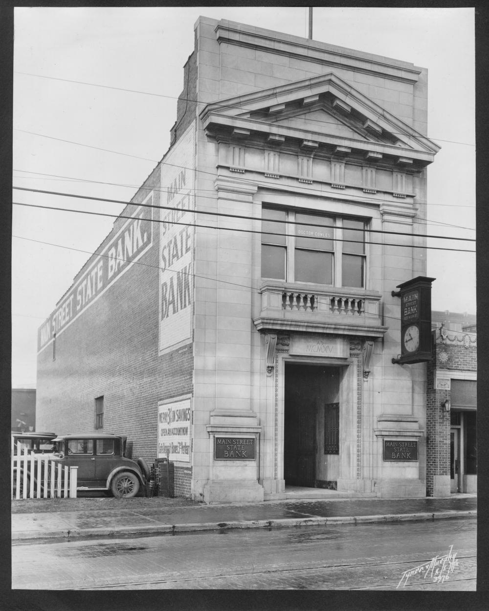 House Doctor Bank Main Street State Bank The Pendergast Years