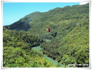 cable car loboc river