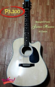 Haggle When You Buy Cebu Guitar in Mactan Island