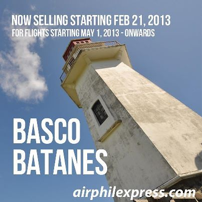 Ticket Fare Manila to Batanes