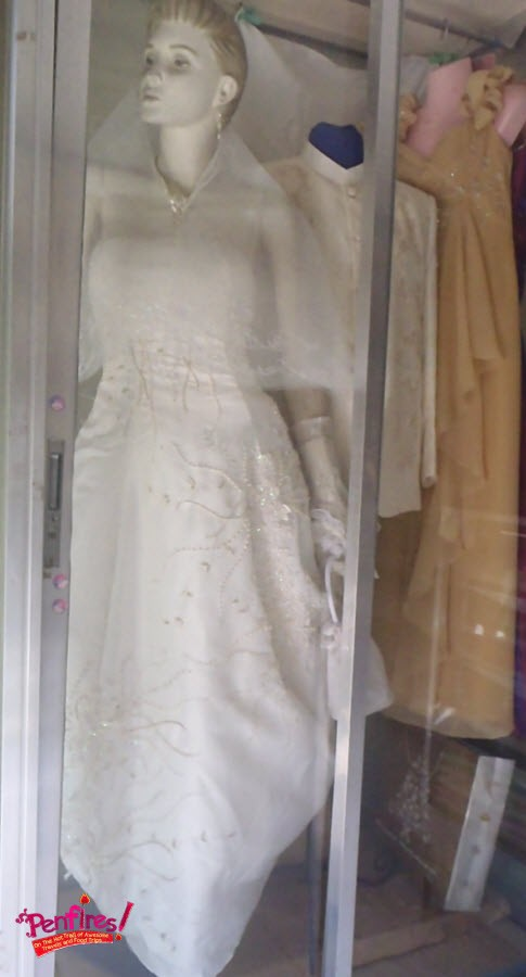 Embroidery Bridal Gown Lumban